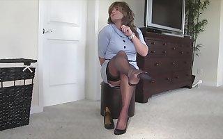 Grey Dress For Samantha