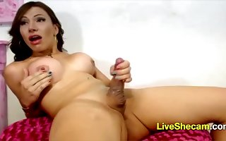 Shemale cumshot webcam